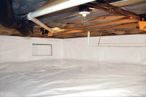 Crawl Space Repair After in Arlington
