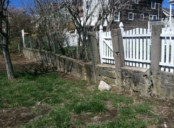 A Retaining Wall Installed In Alexandria
